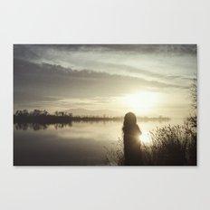 Ser de agua II Canvas Print