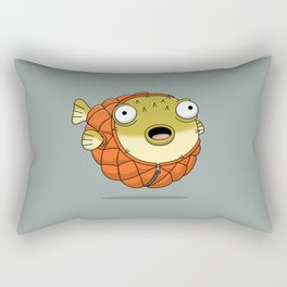 Puffer fish Rectangular Pillow