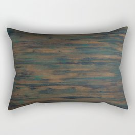Beautifully patterned stained wood Rectangular Pillow