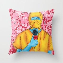 bad n3wz. Throw Pillow