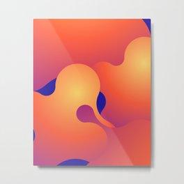 Lava Lamp v.1 Metal Print