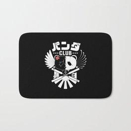 Panda Club Logo Design (White) Bath Mat