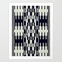 Carpathian Pattern Art Print