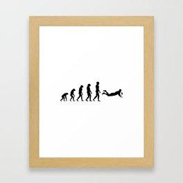 Evolution Rugby #4 - Try Framed Art Print