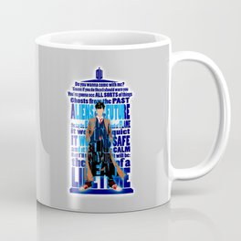 Time Traveller Quotes Typograph Coffee Mug