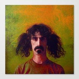 Zappa Canvas Print