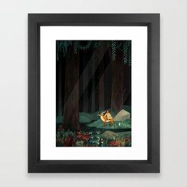 Princess Mononoke tribute Framed Art Print