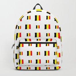 Flag of belgium 8 handmade Backpack