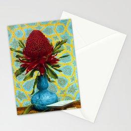 Lucien Henry Waratah Stationery Cards