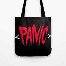 PANIC Tote Bag