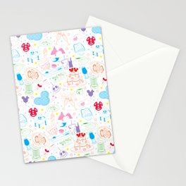 Tasting the Magic - White Stationery Cards