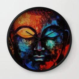 Lord Buddha Abstract Art Wall Clock