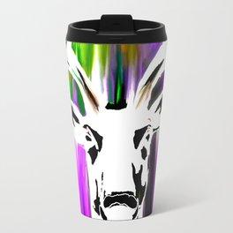 White Deer OIL PAINTING Travel Mug