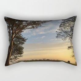 Mt. Davidson Sunrise Rectangular Pillow