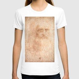 Classic Art - Leonardo da Vinci by Leonardo da Vinci T-shirt