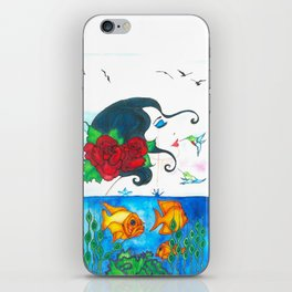 Dont forget me iPhone Skin