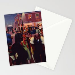 African-American 1934 Classical Masterpiece 'Black Belt' by Archibald Motley Stationery Cards