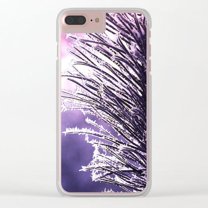 Pine(2) Clear iPhone Case
