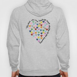 Hearts Heart Teacher Hoody