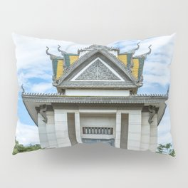 The Memorial Stupa of Choeung Ek, Cambodia Pillow Sham