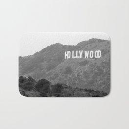 Hollywood Sign Bath Mat
