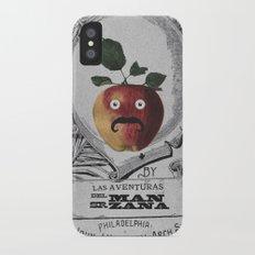 mr manzana iPhone X Slim Case