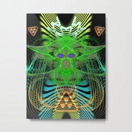 Toxic Entity (Acid) Metal Print