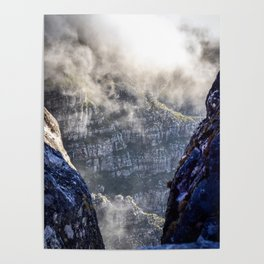 Table Mountain, South Africa Landscape Poster