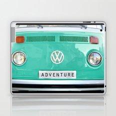 Adventure wolkswagen. Summer dreams. Green Laptop & iPad Skin