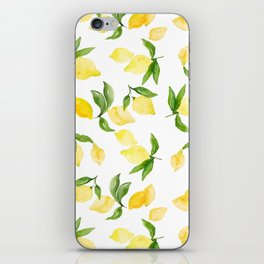 lemon love iPhone Skin