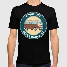 outerbanks nc - pogue life T-shirt