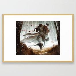 The smallest Hero Framed Art Print