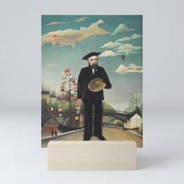 Henri Rousseau - Myself: Portrait – Landscape Mini Art Print