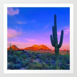 Meet Me In Phoenix Art Print