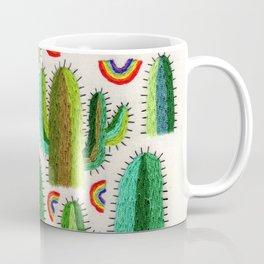 Cacti and Rainbows Coffee Mug