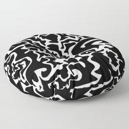 Random Shapes Design Floor Pillow
