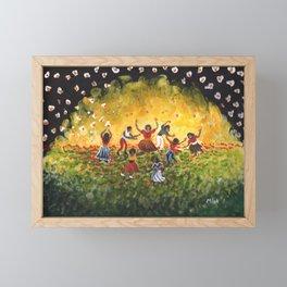 All Night I Dance Framed Mini Art Print