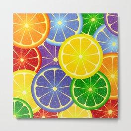 colorful fruits Metal Print
