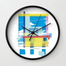 funky town Wall Clock