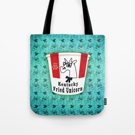Kentucky Fried Unicorn Tote Bag
