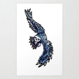 Nightvision: Nakai Art Print