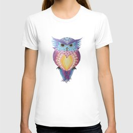 Henna Owl T-shirt