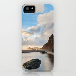 Setting Sun At Moonstone iPhone Case