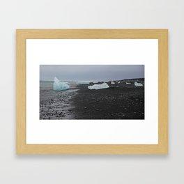 Glacier Lagoon Framed Art Print