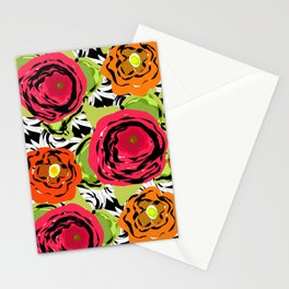 Abstract roses 1 Stationery Cards