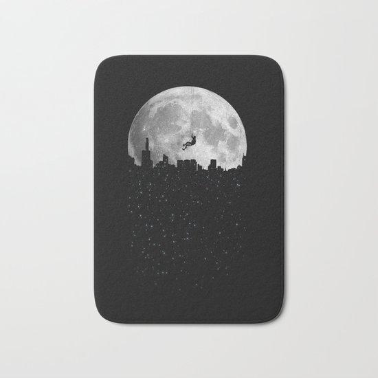 The Moon Climber Bath Mat