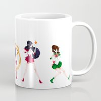 sailor moon Mugs featuring Sailor Moon! by IllustrateKate