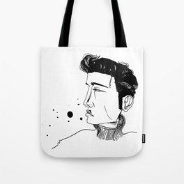 1950's Heart Throb Tote Bag