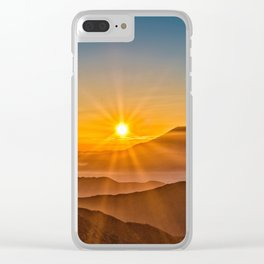 The Southern Alps Clear iPhone Case