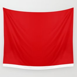 Red Red Wall Tapestry